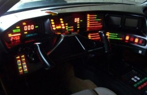 "Knight Rider dashboard (""Kitt"")"