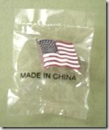 lapel pin flag