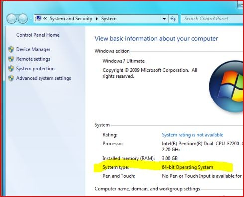 A Tech's First Impression of Windows 7 64-bit « Tech – for