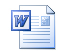 MS Word document icon