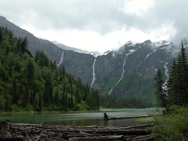 Avalanche Lake, Canada