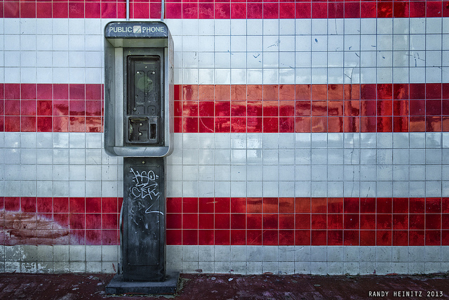 image abandoned phone booth